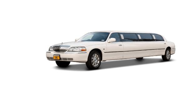 Lincoln Towncar limousine wit