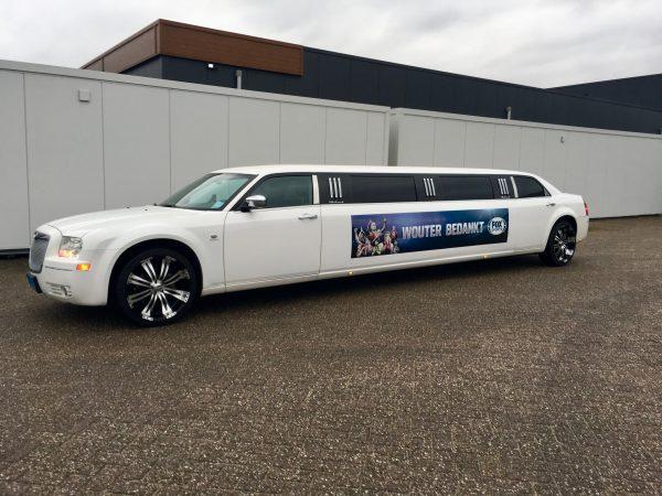 Limousine bedrukken | Fox Sports | Vallei Limousines | Limousine huren