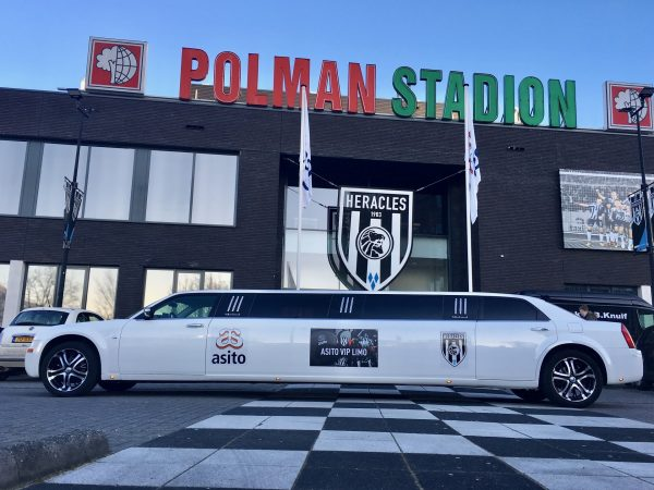 Limousine Heracles Almelo | Polman Stadion | Vallei Limousines | Limousine huren