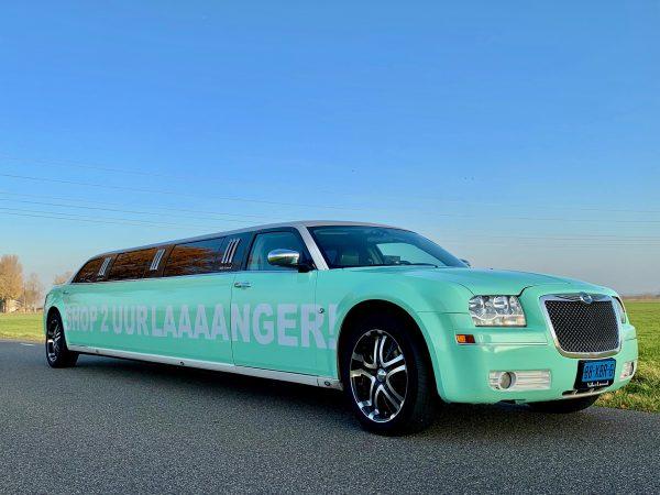 Limousine bedrrukken | Stickers | Vallei Limousines | Limousine huren
