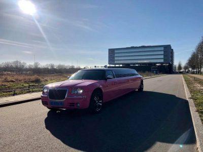 Roze limousine - Vallei limousines